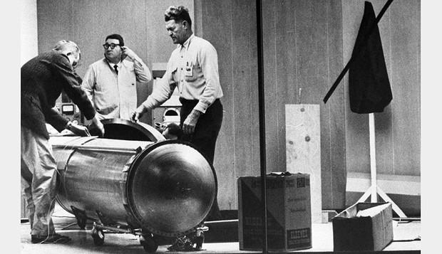 La criocápsula de Edward Hope se diseñó para congelar a James H. Bedford. © Getty Images