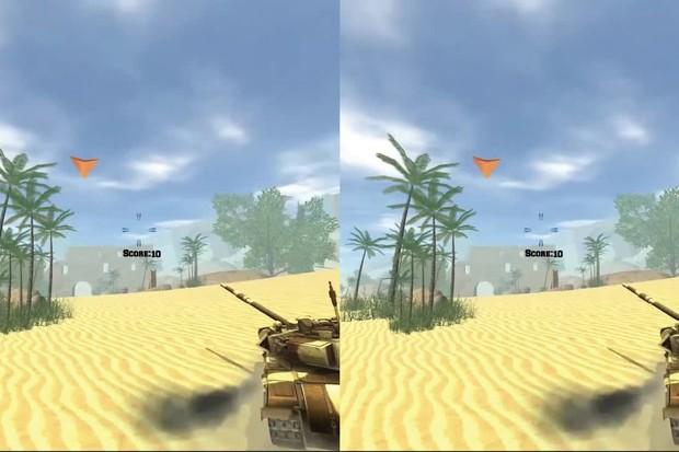 Entrenamiento de tanques de realidad virtual