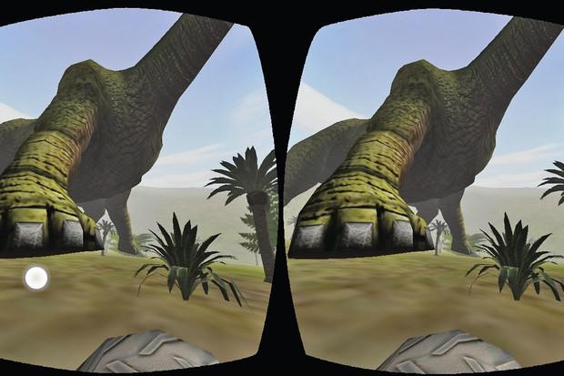 VR Jurassic Land