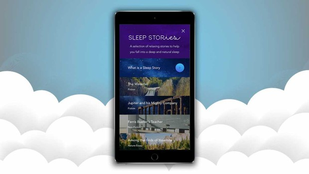 Aplicación de meditación tranquila Sleep Stories