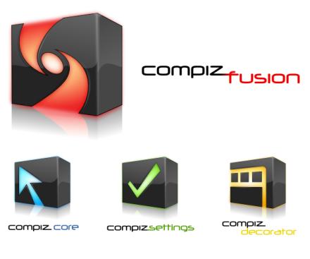Compiz Fusion, nuevos logos