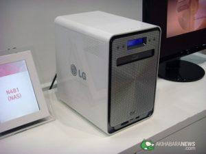 Actualidad Tecnologica – LG N4BA, NAS con grabadora Blu-ray