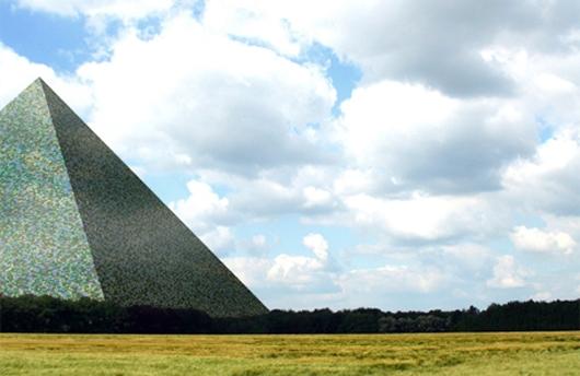 El monumento más grande del mundo (es una pirámide)