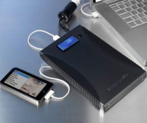 PowerTraveller PowerGorilla y SolarGorilla, batería y cargador solar